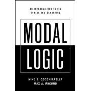 Modal Logic by Nino B. Cocchiarella