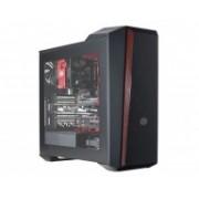 Gabinete Cooler Master MasterBox 5t con Ventana, Midi-Tower, ATX/Micro-ATX/Mini-ATX, USB 3.0, sin Fuente, Negro/Rojo