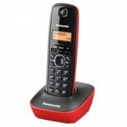 Panasonic TG1611FXR telefon DECT, rosu-negru