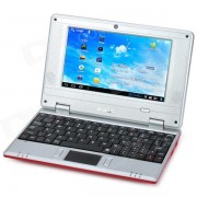 """""""IMOS WM8850-mid 7"""""""" Screen Android 4.0 Netbook w/ Wi-Fi / RJ45 / Camera / HDMI / SD Card Slot - Red"""""""
