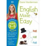 English Made Easy Rhyming Preschool Ages 3-5: Ages 3-5 preschool by Carol Vorderman