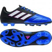 adidas Kinder-Fußballschuh ACE 17.4 FxG J - core black/ftwr white/blu