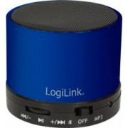 Boxa portabila LogiLink Bluetooth cu MP3 Player Albastra