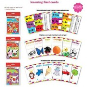 ABC Math Flash Cards Alphabet Multiplication Division Subtraction Addition Spelling Flash Cards Wipe Clean Includes