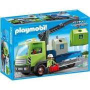 Комплект Плеймобил 6109 - Kамион за стъклени отпадъци - Playmobil, 291152
