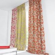 """Vorhang """"Summerlove"""", 1 Vorhang, 130 x 260 cm - Fuchsia"""