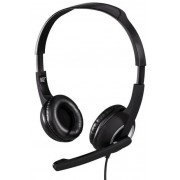 Casti Stereo cu microfon Hama Essential HS 300, microfon (Negru)