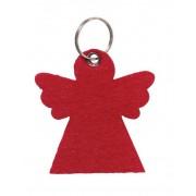 LLavero angelito en bolsa de organza