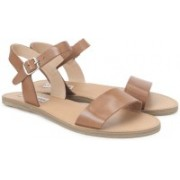 Steve Madden Women TAN LEATHER Flats