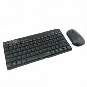 Rapoo 8000 Wireless Desktop Cseppallo Fekete/Szurke