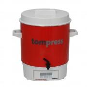Sterilizator digital emailat, cu robinet, Tom Press