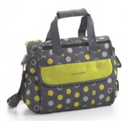 Chic 4 Baby Luxury - Borsa per cambio pannolino, collezione 2014, colore: Giallo limone/Verde