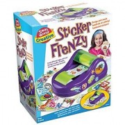 Small World Toys Creative - Sticker Frenzy Art Kit