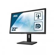 """AOC E2275pwqu 21.5"""" Full Hd Tn Nero Monitor Piatto Per Pc 4038986125499 E2275pwqu 10_0g30244"""