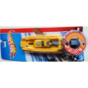 Hotwheels Launcher with racing sound, red or yellow MatV4462
