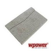 WPOWER 7'' Műbőr, nyomott mintás Tablet tok, fehér