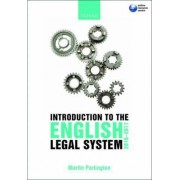 Introduction to the English Legal System 2016-17 by Martin Partington