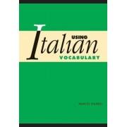 Using Italian Vocabulary by Marcel Danesi