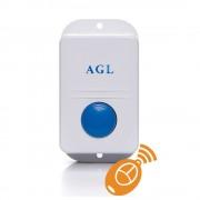 Acionador por botão e controle remoto de fechadura 12V. (AGL)