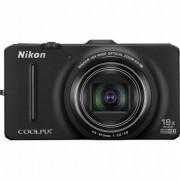 Digitalni fotoaparat sa GPS funkcijom COOLPIX S9300 Crni NIKON