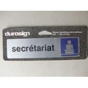 Secretariat Plaque De Signalisation Durasign 17x4.7 Cm