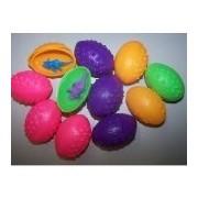 1 Dz Dinosaurs Eggs with Mini toy Dinosaur figures Inside - 12 Per Order