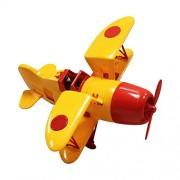 Joustra - 40103 - Miniature Vehicle - aereo Vintage - giallo / rosso