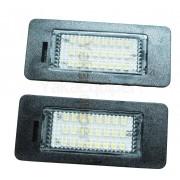 Pack LED plaque immatriculation BMW Serie 5 E39, E60, E60N, E61, E61N