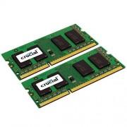 Crucial 8GB Kit (4GBx2) DDR3 1066 MT/s (PC3-8500) SODIMM 204-Pin Mémoire pour Mac - CT2C4G3S1067MCEU