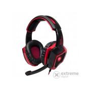Casti Spirit of Gamer XPERT-H100 7.1, negru-rosu