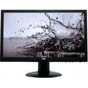 Monitor TN LED AOC 22 e2260Pq, DVI-D, VGA, 2ms, Boxe (Negru)