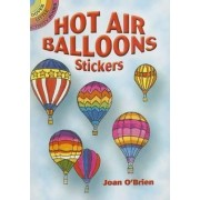 Hot Air Balloons Stickers by Joan O'Brien