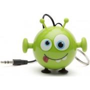 Boxa Portabila KitSound MyDoodle Characters Alien, Jack 3.5mm (Verde)