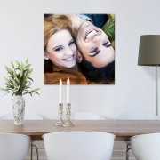 Foto op aluminium - geborsteld (60x60cm)