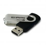 Stick memorie DataVault V35 Serioux, 32 GB, USB