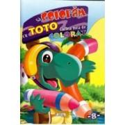 Sa coloram cu Toto - Cartea mea de colorat