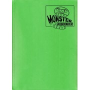 Monster Binder 9 Pocket Trading Card Album Matte Emerald Green (Anti Theft Pockets Hold 360+ Yugioh, Pokemon, Magic The Gathering Cards)