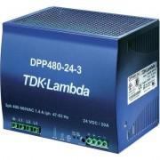 DIN kalapsínes tápegység DPP480-24-3, TDK-Lambda (512642)