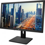 "Monitor IPS LED AOC 21.5"" I2275PWQU, Full HD (1920 x 1080), VGA, DVI, HDMI, DisplayPort, 4 ms, Boxe, Pivot (Negru)"