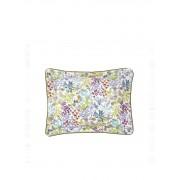 Yves Delorme Enfleur kussensloop van katoensatijn