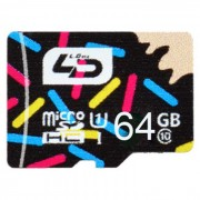 L.Data LD C10 80M/s Super High Speed Micro SD Card (64GB UHS-I)