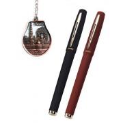 IshStar BAOKE 0.7mm Roller Ball Pen -- Gel Ink Pen (2RED + 2BLACK) 4pcs In One Order -- Office Supplies -- High-Quality Stationery -- Unisex Pen Business Pen Office Pen School Pen --- Set Of 4 Pens