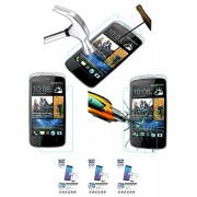 Acm Pack Of 3 Tempered Glass Screenguard For Htc Desire 500 Mobile Screen Guard Scratch Protector