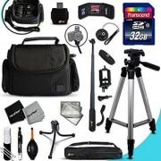 Xtech CANON POWERSHOT Accessories KIT for Canon POWERSHOT SX60 HS SX50 HS SX530 HS SX610 HS SX710 HS SX410 IS GX 7 G1 X G1 X Mark II G1 X G15 G16 SX520 HS SX600 HS SX700 HS SX510 HS D30 D20 SX500 IS S200 S1