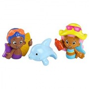 Nickelodeon Bubble Guppies Molly Goby and Buddy Bath Squirters