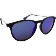 ELS RB4171-Black-Blue Oval Sunglasses(Blue)