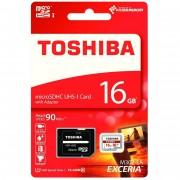Toshiba EXCERIA™ microSD HC M302-EA карта - 16 GB Class 10 UHS-I, U1, 90 MB/s с адаптор