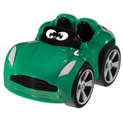 Chicco - Coche Turbo Touch Stunt Car, Willy Miles, color verde (00007301000000)