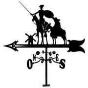 Veleta Tejado de hierro Don Quijote y Sancho 900 mm.