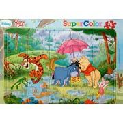 Winnie the Pooh amigos/Puzzle con marco/15 piezas